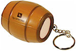 Barrel Keyring Stress Balls